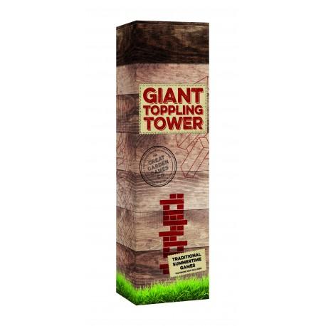 Garden Games - Giant Toppling Tower