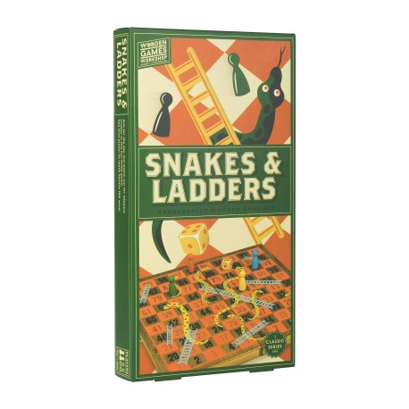 Wooden Games Workshop - Snakes and Ladders