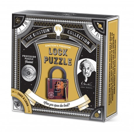 Lock Puzzle - The Einstein Collection