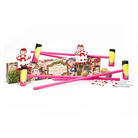 The Queen of Heart's Croquet Set
