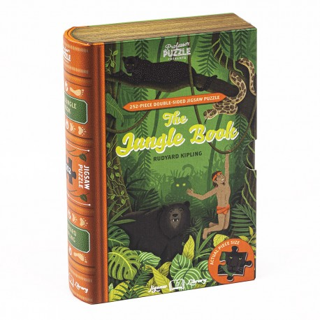 Puzzle - Jigsaw Library, The Jungle Book