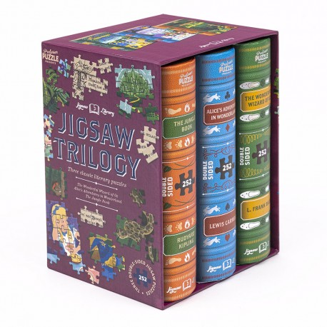 Puzzle - Jigsaw Library, Kids Trilogy