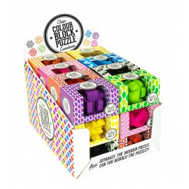 Colour Block Puzzle Display
