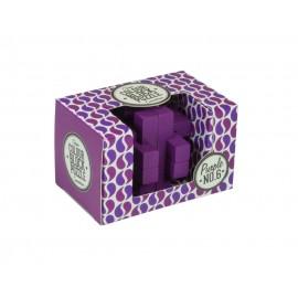 Colour Block Puzzle - No.6 Purple