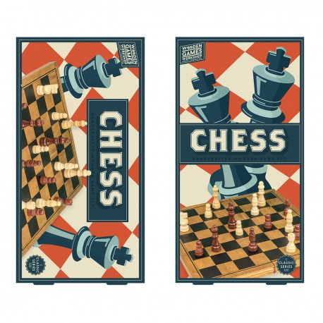 Wooden Games Workshop - Chess