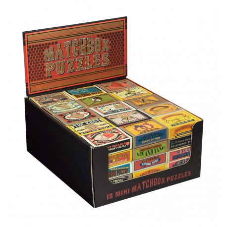 Matchbox Puzzle Display